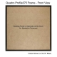 10x10 Picture Frame - Profile375