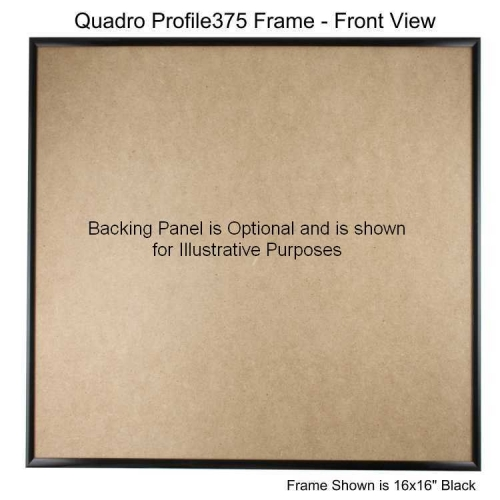 17x17 picture frame profile375