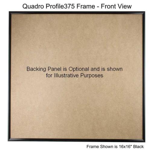 17x17 picture frame profile375