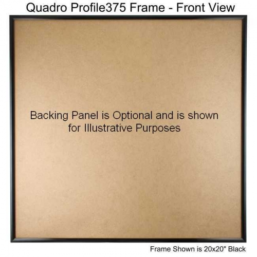 22x22 picture frame profile375