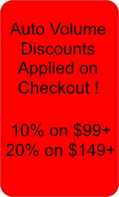 Discounts for orders over $99