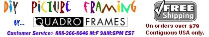 DIY Picture Framing by Quadro Frames